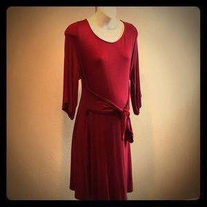 3/4 sleeve Maternity Dress